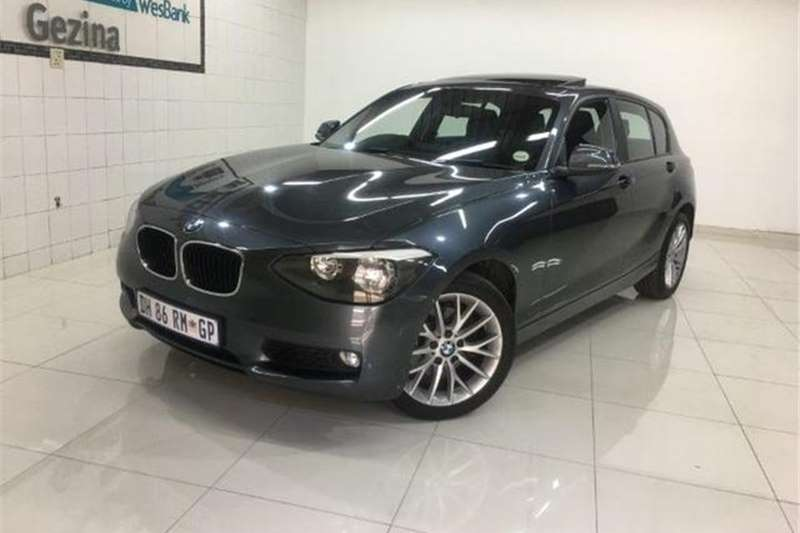 BMW 1 Series 118i 5 Door Sport Auto 2014