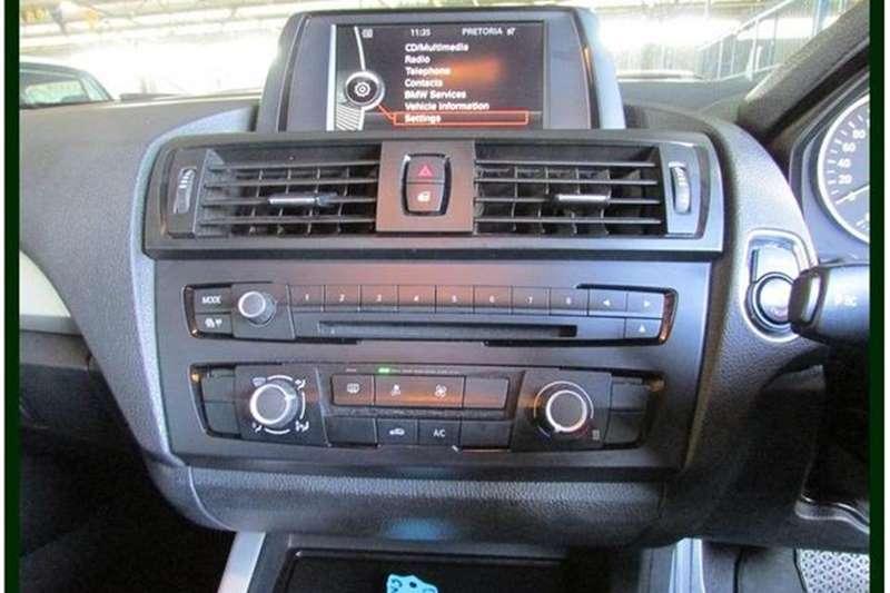BMW 1 Series 118i 5 door steptronic 2013