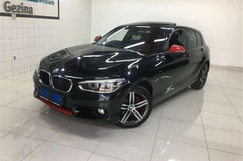 BMW 1 Series 120d 5-Door M Sport Auto 2015