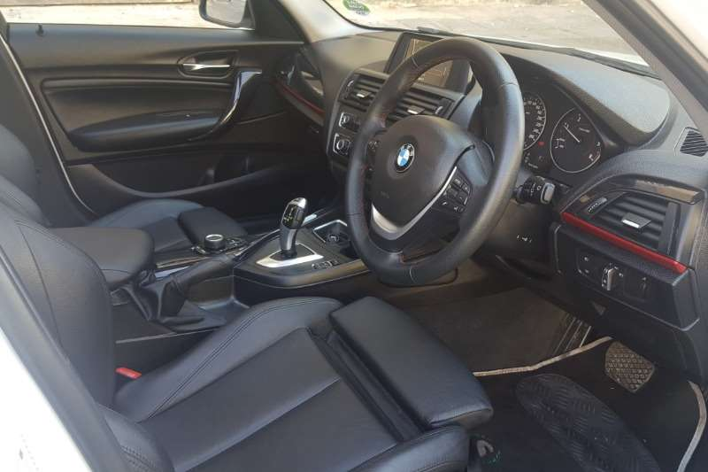 BMW 1 Series 120d 5 door M Sport sports auto 2015