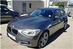 BMW 1 Series 120d 5 door Sport Line sports auto 2014