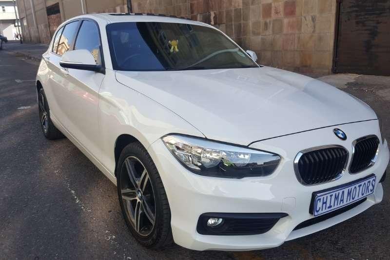 BMW 1 Series 120d 5 door Sport sports auto 2015