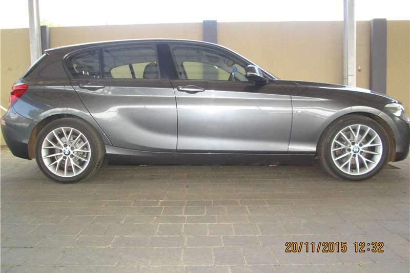 BMW 1 Series 120d 5 door Urban sports auto 2012