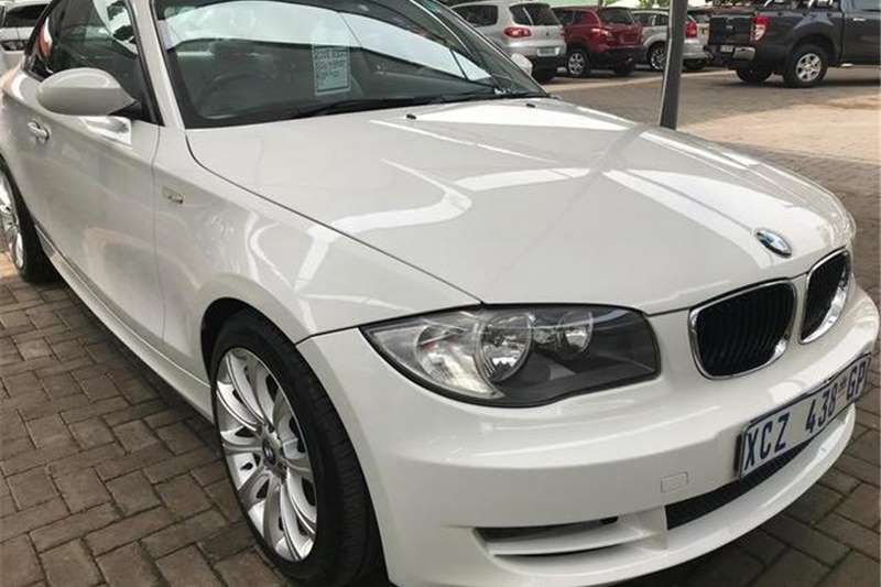 BMW 1 Series 120d coupe M Sport 2008