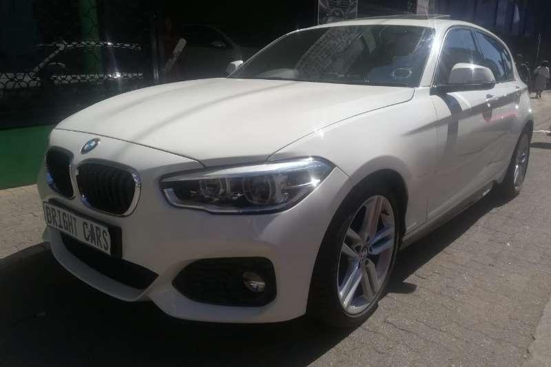 BMW 1 Series 120i 3 door M Sport auto 2017