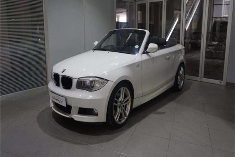 BMW 1 Series 125i convertible 2012