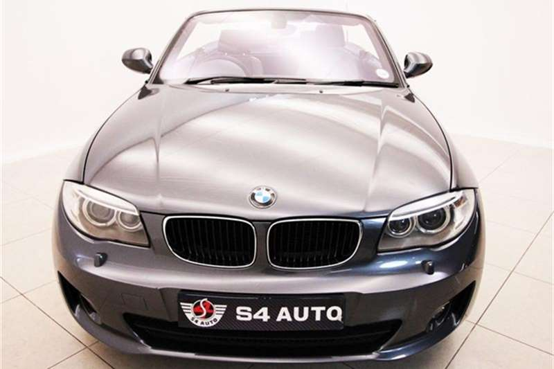 BMW 1 Series 125i convertible 2013