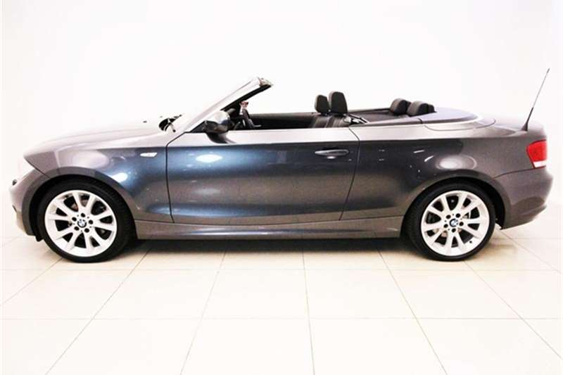 BMW 1 Series 125i convertible 2013