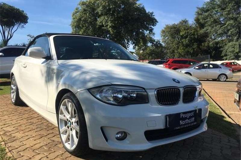 BMW 1 Series 125i convertible steptronic 2011