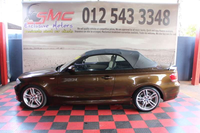 BMW 1 Series 135i convertible 2011