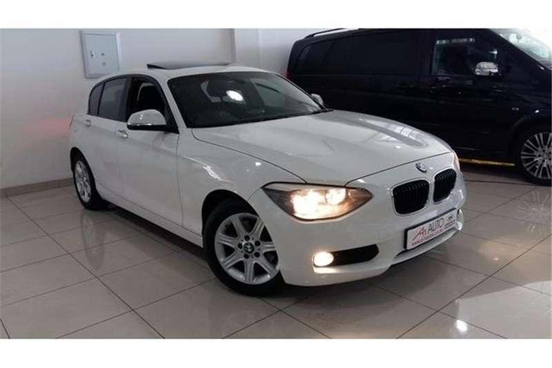 BMW 1 Series 5DR A/T (F20) 2012