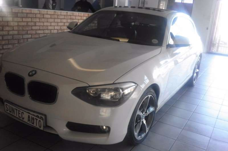 2014 BMW 1 Series 116i 3 door auto