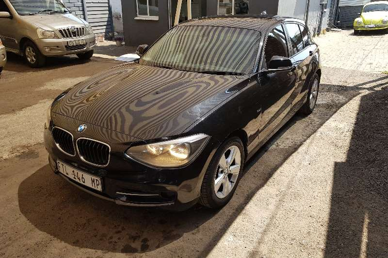 2012 BMW 1 Series 118i 5 door