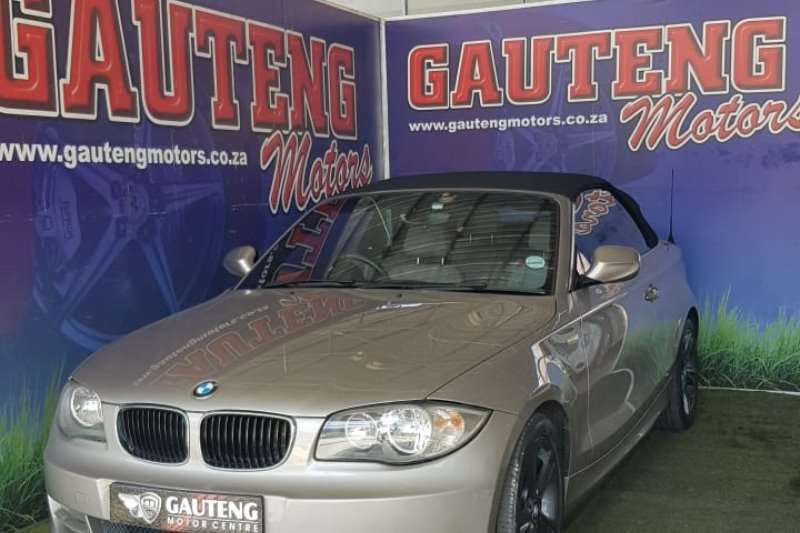 2010 BMW 1 Series 120i convertible Exclusive auto