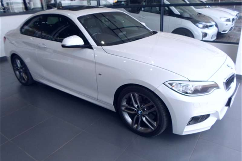 BMW 2 Series 220d coupe M Sport auto 2015