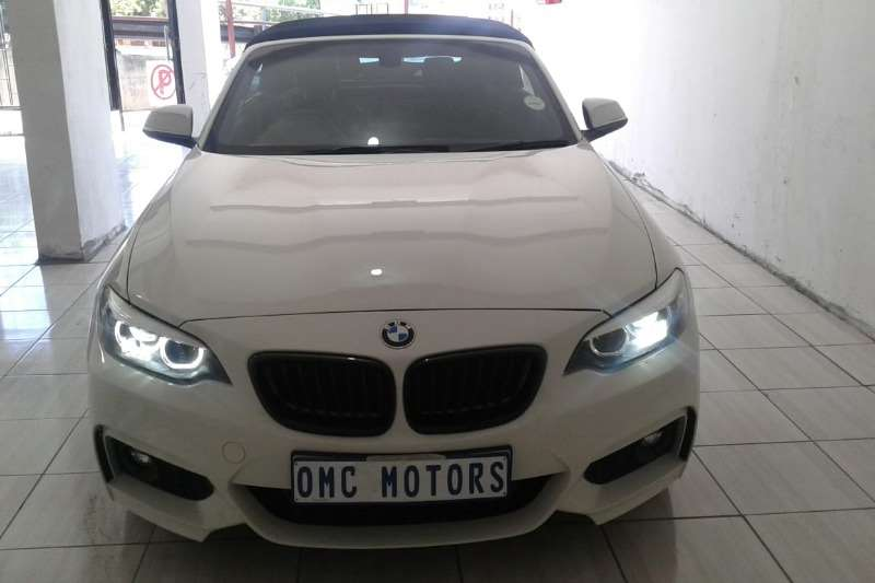 2017 BMW 2 Series 220i convertible Sport auto