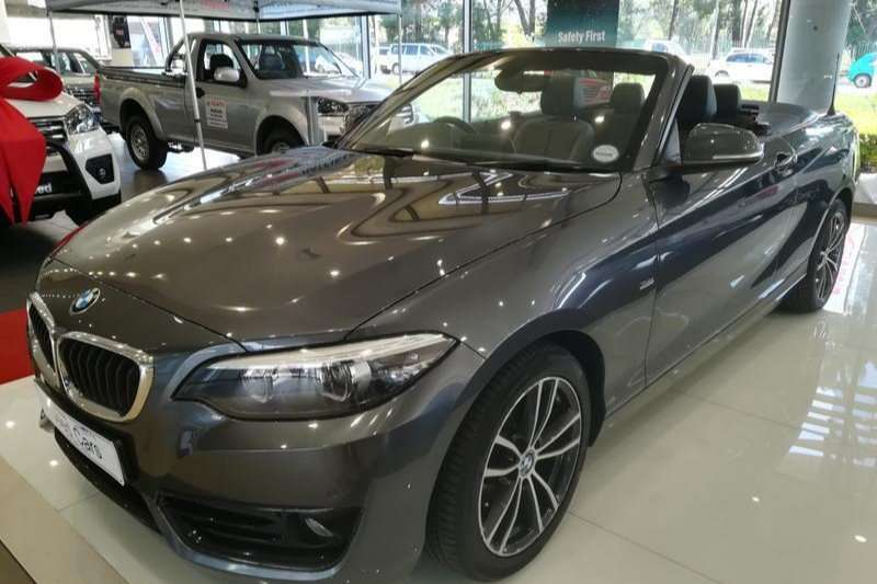 2018 BMW 2 Series 220i convertible Sport Line sports auto