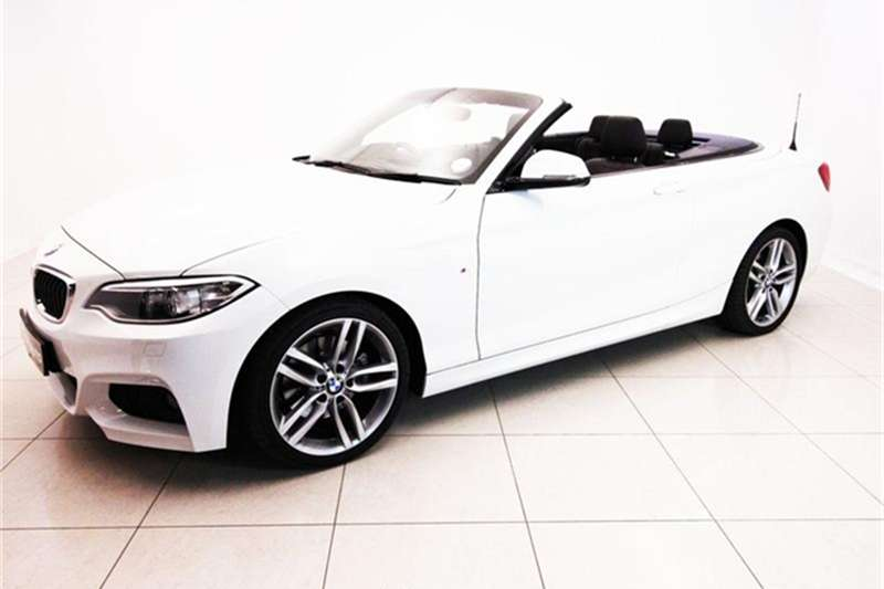 2016 BMW 2 Series 220i convertible Sport auto