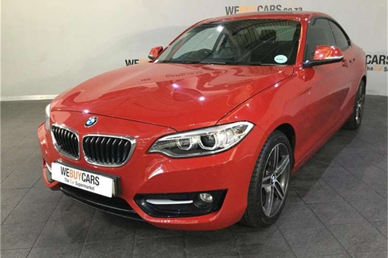 2014 BMW 2 Series 220i coupe Sport auto