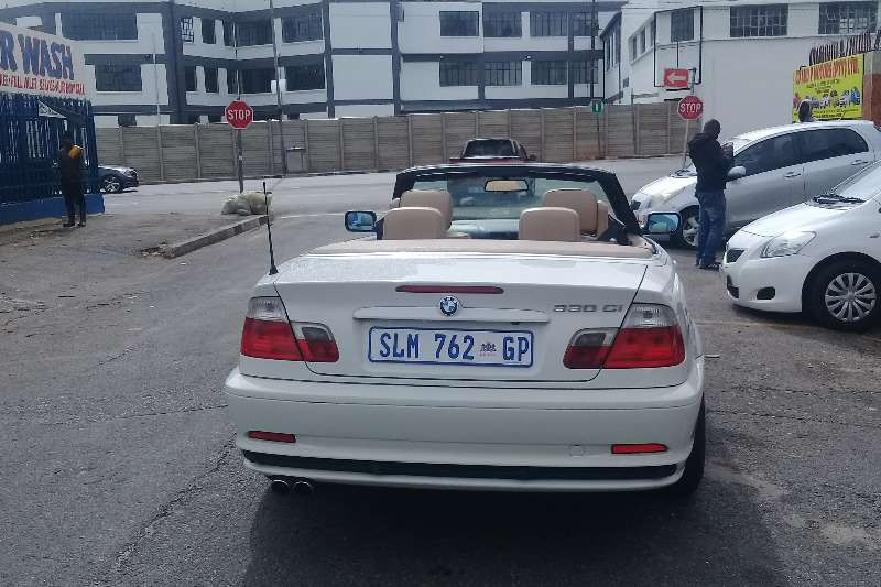 BMW 3 Series 330Ci Automatic convertible 2002