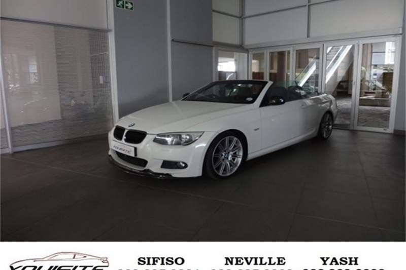 BMW 3 Series 335i convertible M Sport steptronic 2010