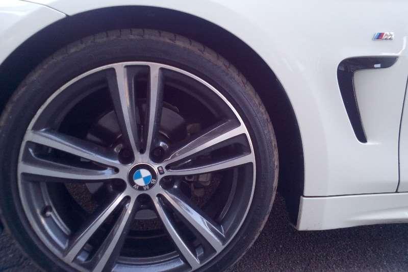BMW 4 Series 420d coupe M Sport sports auto 2015