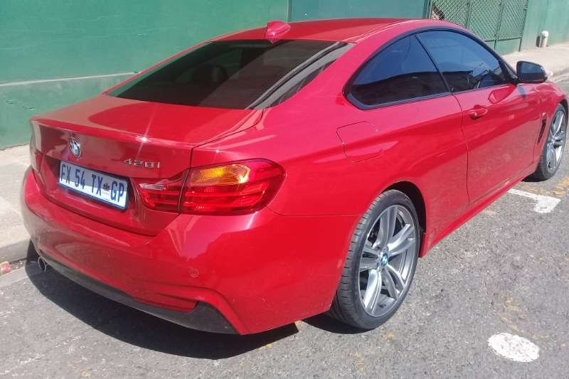 BMW 4 Series 420i coupe auto 2013