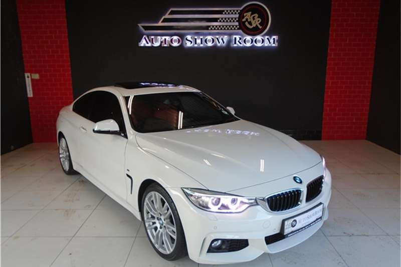 2015 BMW 4 Series 420d coupe M Sport auto