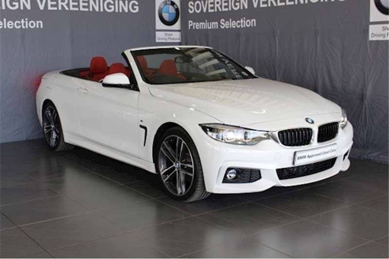 2018 BMW 4 Series 420i convertible M Sport auto