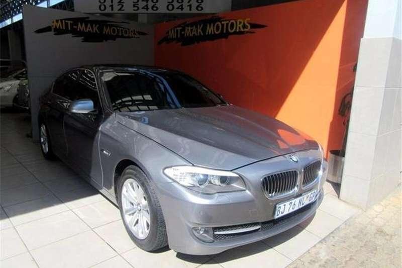 BMW 5 Series 520d Exclusive 2010