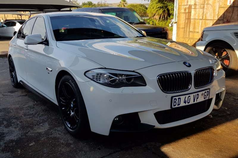 BMW 5 Series 520d M Sport steptronic 2012