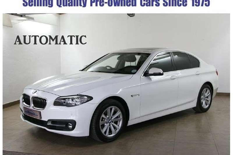 BMW 5 Series 520d steptronic 2016