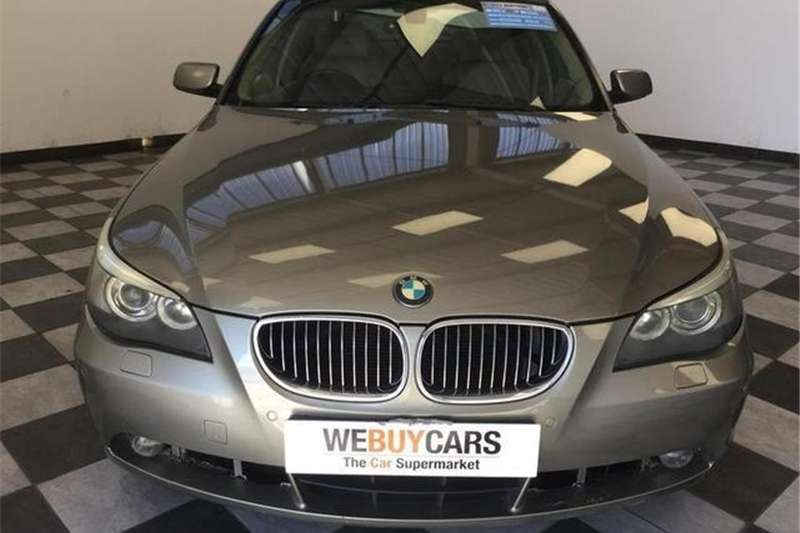 BMW 5 Series 545i steptronic 2004