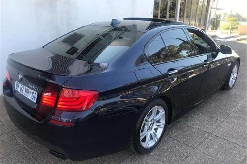BMW 5 Series 550i M Sport 2011