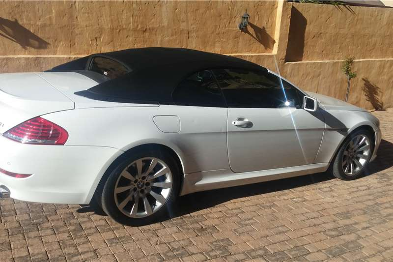 2008 bmw 6 series 650i convertible convertible petrol rwd automatic cars for sale in. Black Bedroom Furniture Sets. Home Design Ideas