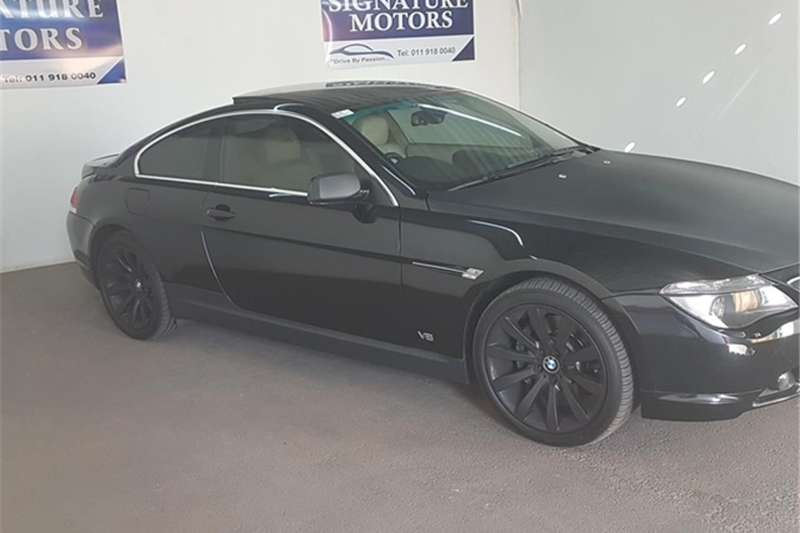 2006 Bmw 6 Series Coupe A T E63 Cars For In Gauteng R 280 000 On Auto Mart