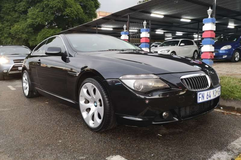 2009 BMW 6 Series 650i steptronic