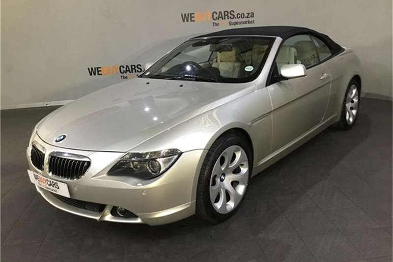 2006 BMW 6 Series 650i convertible steptronic