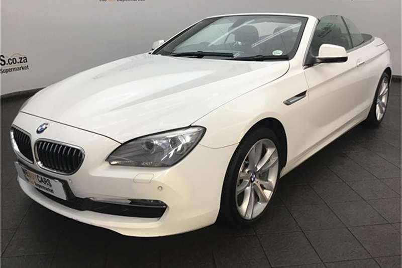 2013 BMW 6 Series 640i convertible