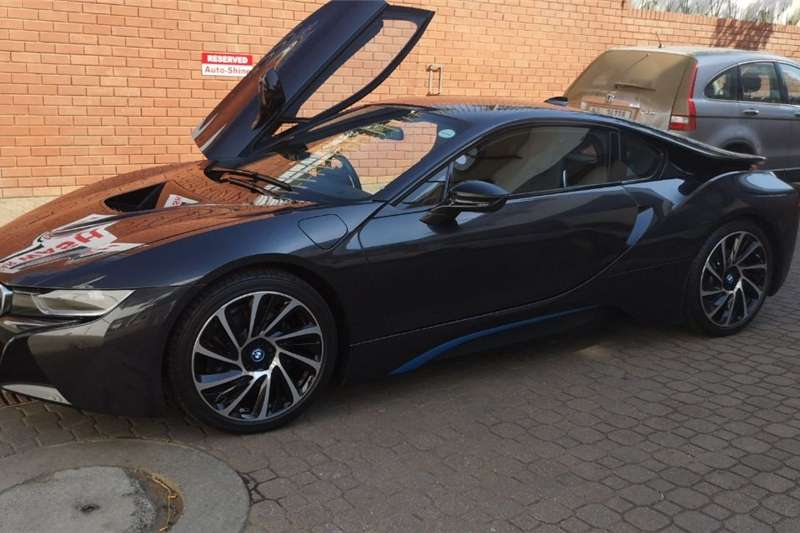 BMW I8 EDrive Coupe Protonic Frozen Black Edition 2016