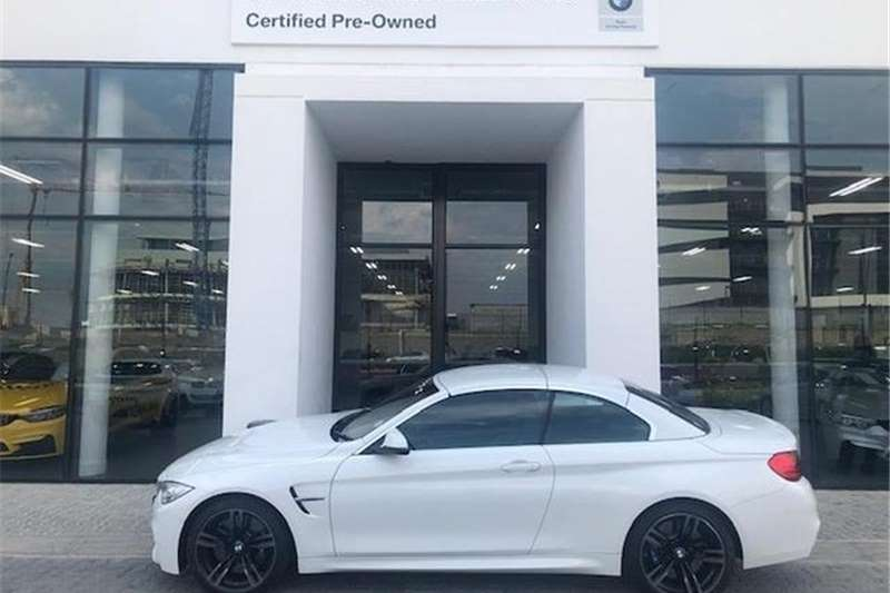 BMW M4 Convertible Auto 2017