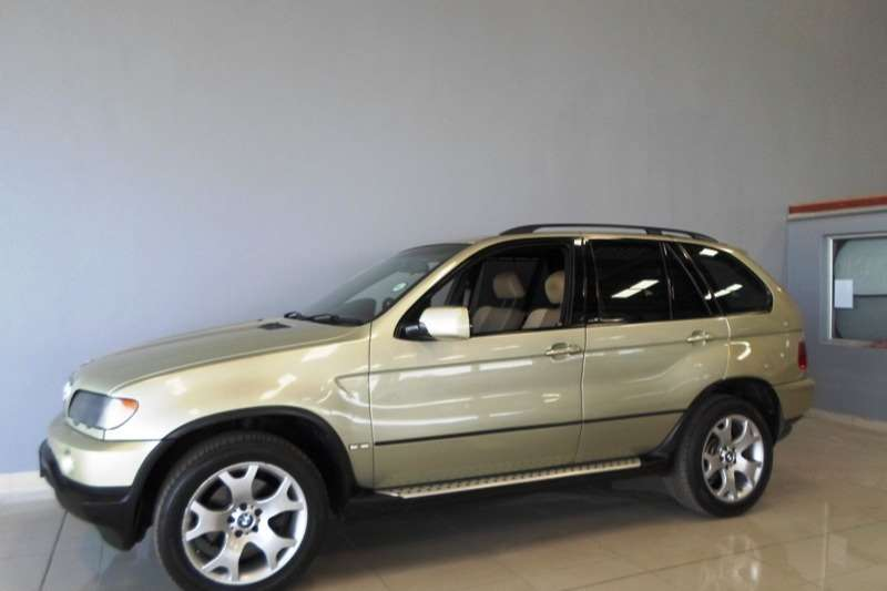 2002 BMW X series SUV X5 3.0i Activity steptronic