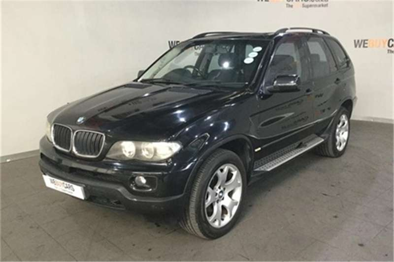 2006 BMW X series SUV