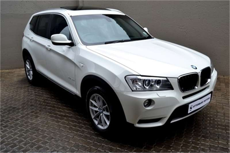 BMW X series SUV X3 xDrive20d Exclusive 2012