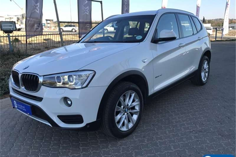 BMW X series SUV X3 xDrive20d Exclusive 2015