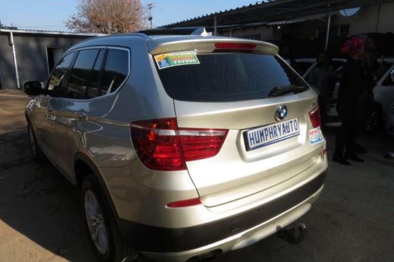 BMW X3 xDrive20d auto 2013