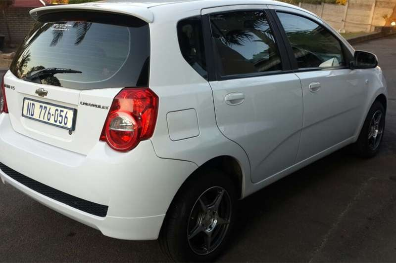 Chevrolet Aveo 1.6 LS hatch automatic 2011