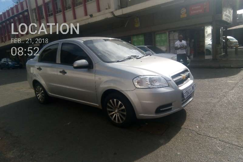 2009 Chevrolet Aveo 1.6 LS sedan automatic