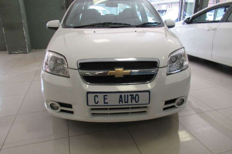 2015 Chevrolet Aveo 1.6 LS sedan automatic