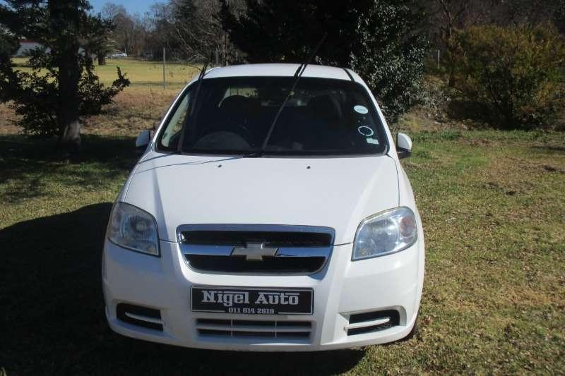2010 Chevrolet Aveo 1.6 LS sedan automatic